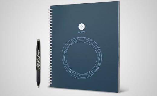 可以用一辈子的纸质笔记本,微波加热就能变全新