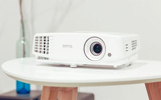 明基E560JD智能投影机,自带热点一键快速投屏