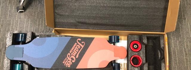 Teamgee电动滑板小白女滑手评测