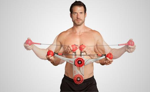有了这款室内健身器,哪里都是你的健身房