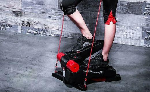 若赛FE300踏步机:纳米传动减少噪音,双液压支架承重强