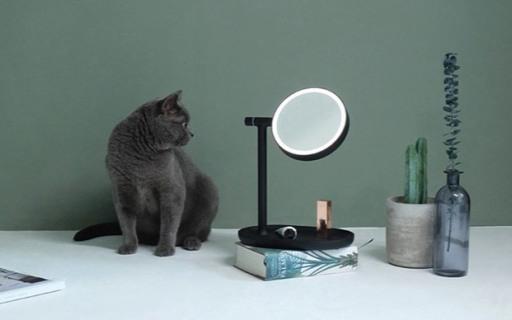 MUIDLED翻转化妆镜:专业光照还原自然皮肤肌理,妆容更细致