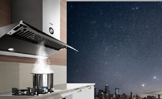 方太智能油烟机,油烟感应自动调节厨房更清新