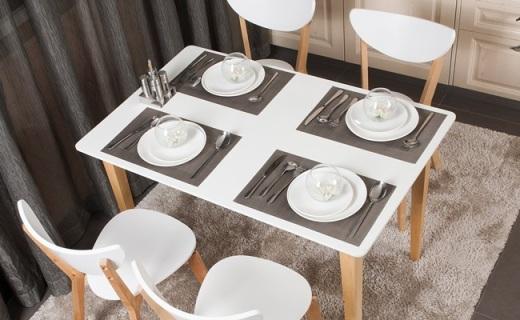 Homestar桌椅套装:天然桦木坚固耐用,精美简约超实用