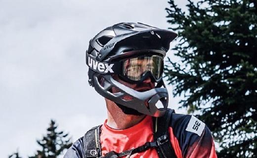UVEX变形山地骑行头盔,半盔全盔10秒就能切换