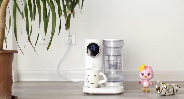 即开即饮,4秒沸腾,爱上喝水就这么简单—— 莱卡净饮一体机K