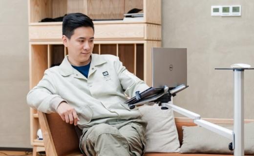 埃普UP-8电脑支架:结实耐用铝合金转轴,舒适角度任你调节