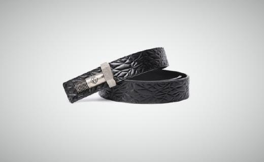 BABAMA皮带:精选牛皮手工工艺,高密度合金温润厚实