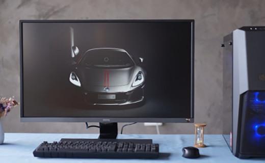HDR加持的4K大屏,满足发烧友的极致要求,明基EW3270U显示器体验