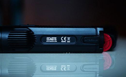 奈特科尔EC4GTS手电测评,户外探险让你无惧黑夜