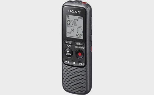索尼CD-PX240录音笔:18小时高续航,多音频格式更清晰