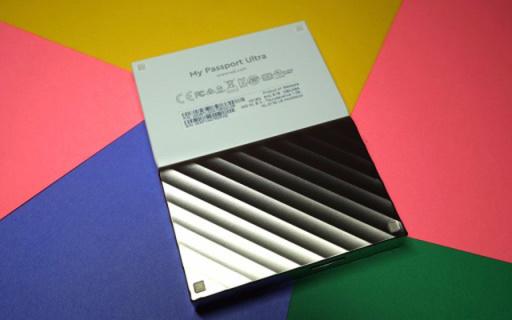 颜值实力兼具,内置加密功能,安全存储首选 — 西部数据 My Passport Ultra移动硬盘评测
