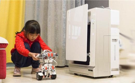 呵护孩子健康,从呼吸开始,松下儿童加湿空气净化器体验
