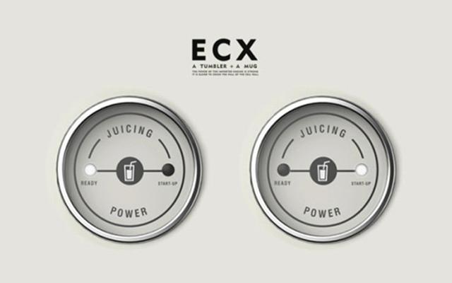 制作健身代餐饮品神器-ECX水果碰碰机