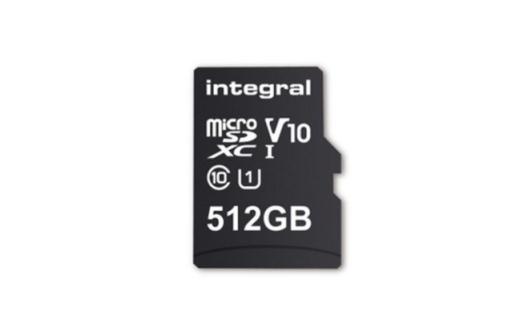全球容量最大microSD卡现身,512GB、10MB/s