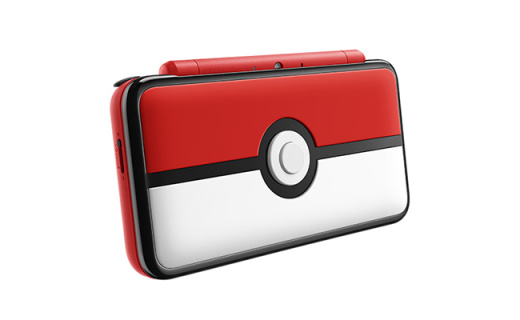 萌气十足!任天堂推Pokemon版2DS XL掌机
