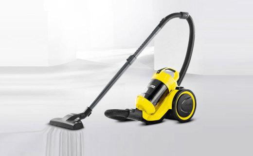 凯驰VC3 PLUS吸尘器:专利技术吸力强大,让你越吸越开心
