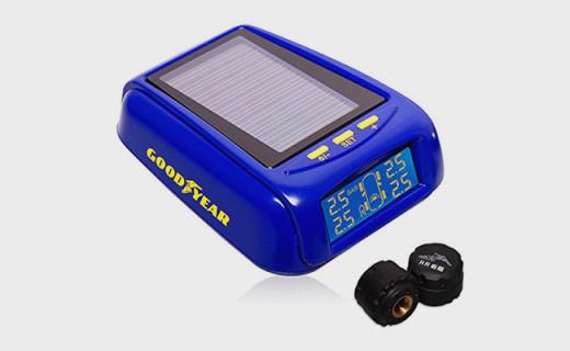 固特异GY-2530胎压报警器:实时监测太阳能供电,行车更安全