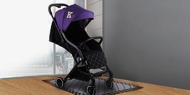 一键收放,超高颜值婴儿推车,父母必备