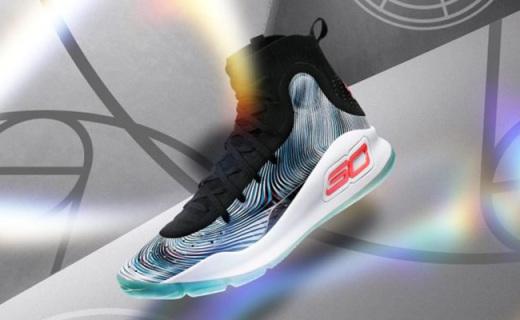 中国赛库里上脚球鞋新配色发售,斑马花纹灵动轻盈