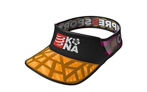 Compressport轻量空顶帽:网布拼接轻量透气,KONA纪念版