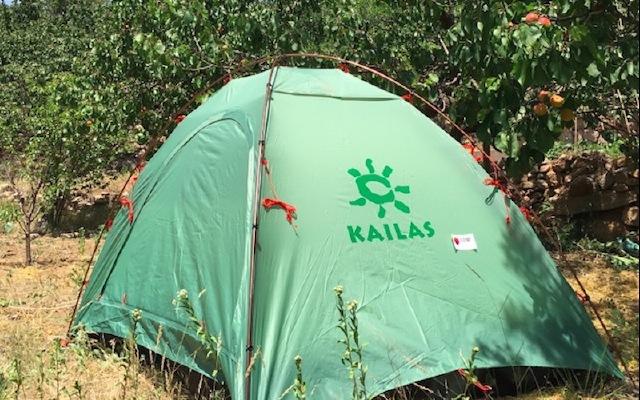 十里杏林下搭起一个家,KAILAS天穹四季帐体验