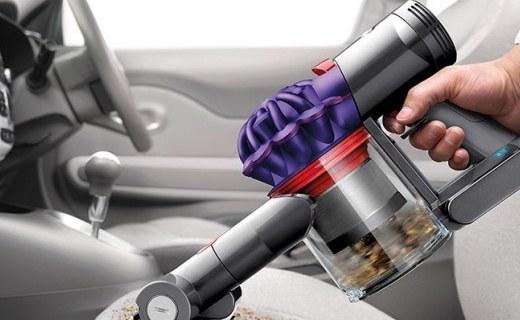 戴森V7 Car+Boat手持吸尘器:有效吸除过敏原,轻巧可手持