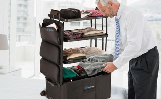 是旅行箱也是衣柜,行李收纳轻松解决