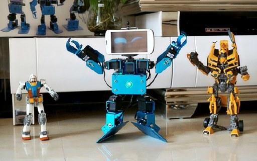 视频 | 可编程组装机器人,自定义玩法孩子超爱