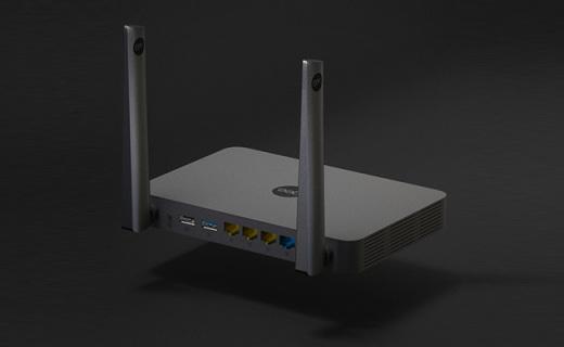 极路由4代增强版:全千兆高性能,内嵌百款插件信号稳定可翻墙
