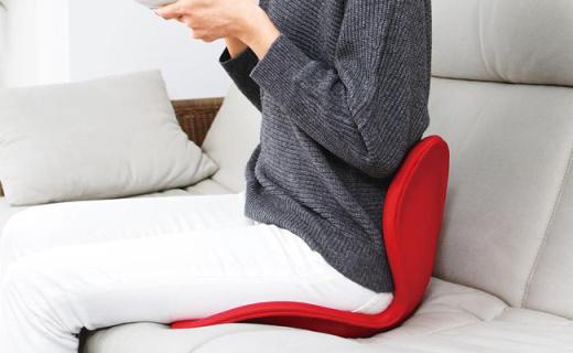 MTG护腰坐垫:花朵外形颜值高,放松舒缓腰部压力