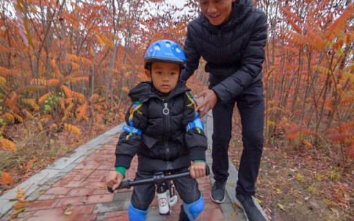 Minipy儿童平衡车,宝宝的第一台代步车