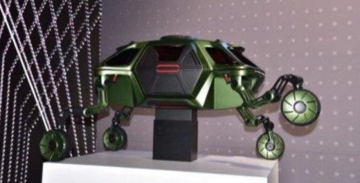 现代Elevate概念车亮相CES!造型神似登月车,还能自由攀爬!