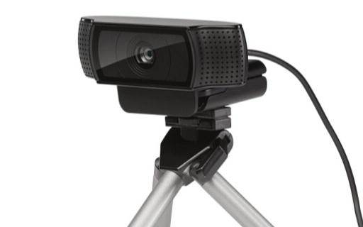 罗技高清网络摄像头:1080P全高清视频通话,一键智能连接
