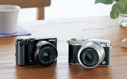 尼康J5+1相机:4K拍摄+复古造型,专用wifi实现超高品质