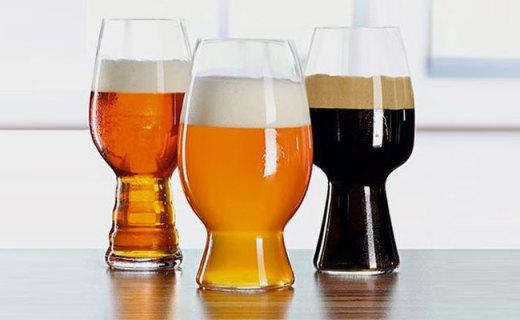 Spiegelau啤酒杯套装:水晶玻璃制颜值高,一人也能饮酒醉