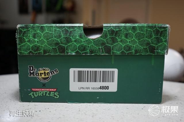 Dr.Martens忍者神龟联名款马丁靴
