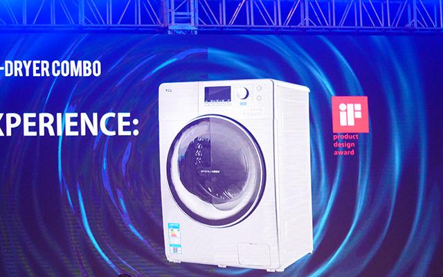 TCL免污滚筒洗衣机
