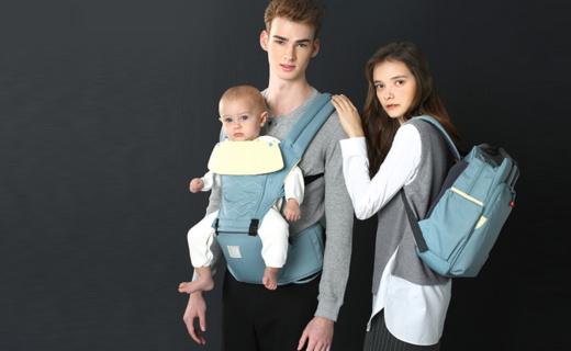 费雪婴儿背带:无毒坚固材质使用安全,倾斜坐垫贴合舒适