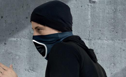 Had防风防雾霾骑行面罩:银盐离子抗菌技术,高效过滤有害物质