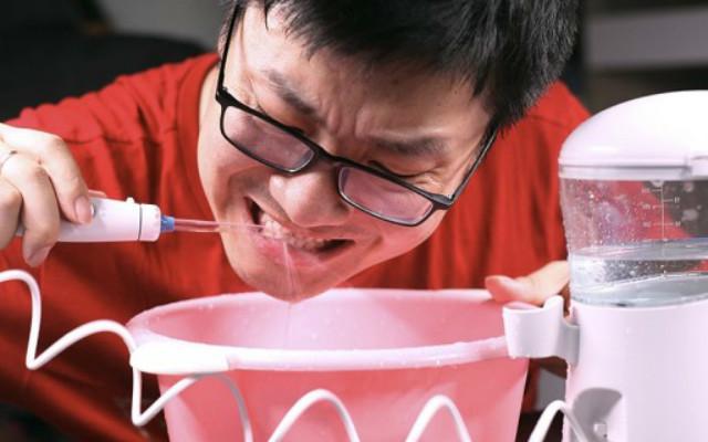 足不出户 自助洗牙,美国心诺洗牙器体验
