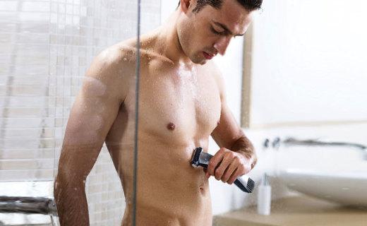 飛利浦剃毛器:3D旋轉刀頭多檔可調,隨時隨地隨便脫