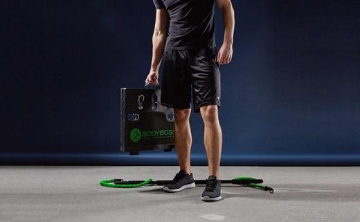 100多种功能的健身板占地不到1m²,加班狗告别猝死!