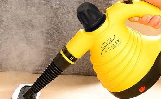 Sichler蒸汽清洁机:极速发热高效清洁,多喷头应对各种污渍