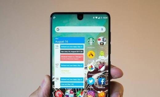 """巨头谷歌下一代Android系统将支持""""刘海""""设计"""