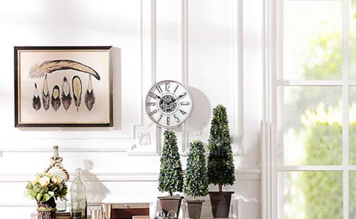 奇居良品装饰钟表:时尚简约的设计,让您感受时间流动岁月沉浮