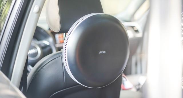 IQAir Atem车载空气净化器体验:开车出门时如何将洁净空气打包带走?有它就够了