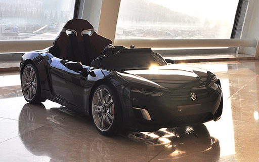 千万别让熊孩子看到这辆屌炸天的玩具车-Broon F830