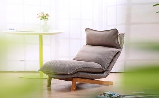 顾家家居懒人沙发:多档调节放松头颈,北欧风格的北京瘫