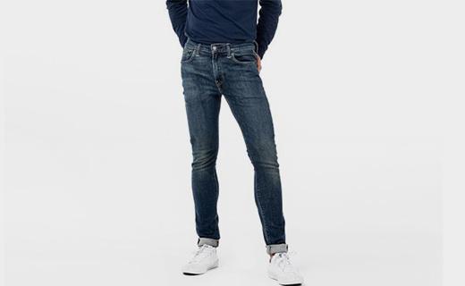 李维斯519版型牛仔裤:修饰腿型又百搭,柔软舒适耐穿